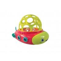 Jucarie de baie peste balon Ludi, ABS, 17 x 10 x 11.5 cm, 10 luni+, Multicolor