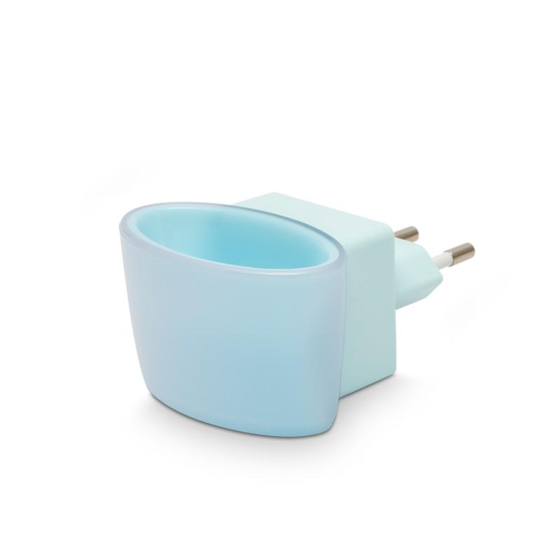 Lampa de veghe Phenom, 1 W, LED, senzor tactil, Albastru 2021 shopu.ro