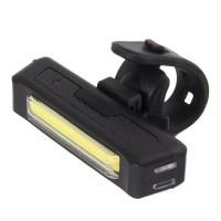 Far bicicleta Elnath Esperanza, USB, 100 lm, 500 mAh, LED COB, 3 moduri iluminare