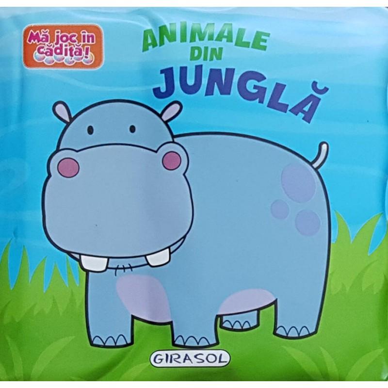 Carte Animale din jungla Girasol, 6 pagini, 12 luni+ 2021 shopu.ro