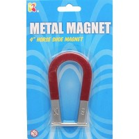 Magnet metalic tip Potcoava  Keycraft, 3 - 7 ani