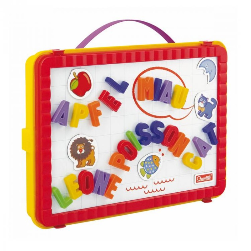 Set litere magnetice mari Magnetino Letters, 48 piese, 4 ani+