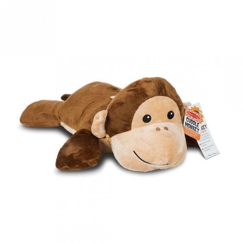 Maimuta din plus Melissa & Doug, 69 cm, 3 ani+ 2021 shopu.ro