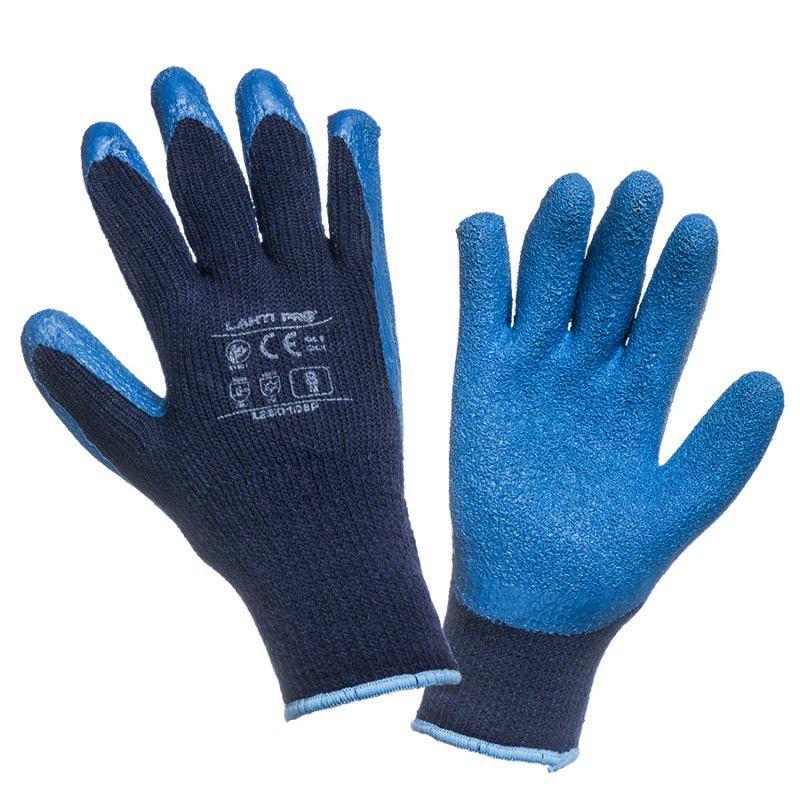 Manusi latex cu acril, termoizolante, utilizabile in conditii de temperatura scazuta, marime 9 L shopu.ro