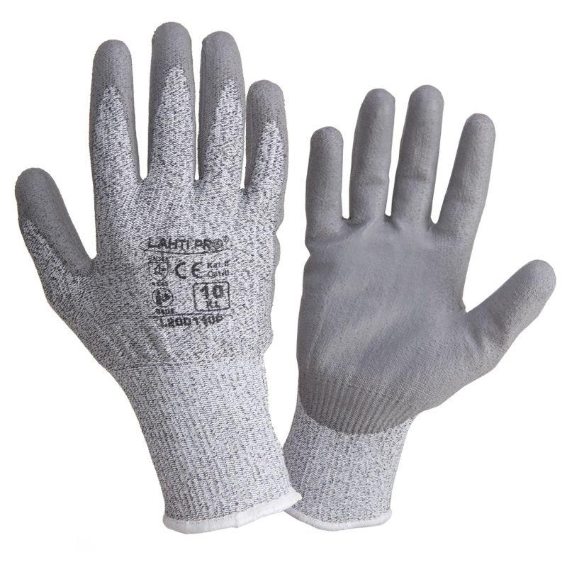 Manusi poliuretan antitaiere tricotate Lahti Pro, marimea 10 2021 shopu.ro