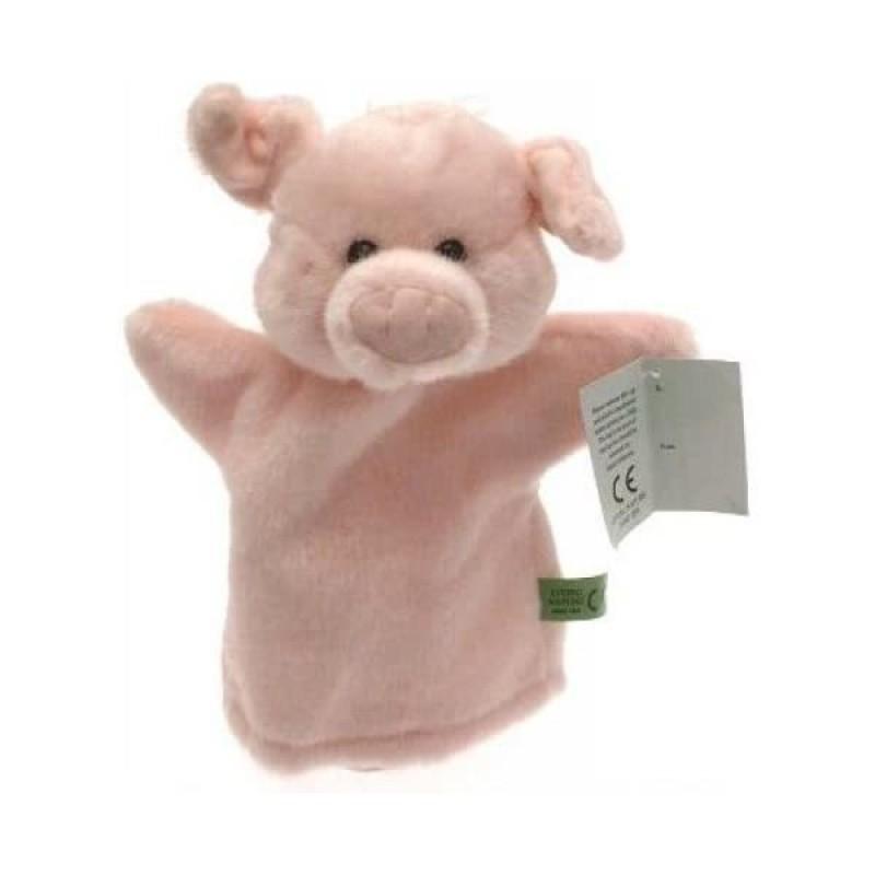 Marioneta de mana Animale Ferma Keycraft, 25 cm, model porcusor, 0 ani+ 2021 shopu.ro