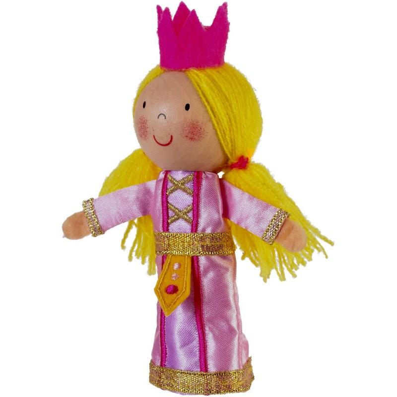 Marioneta pentru deget Printesa Fiesta Crafts, 9 x 13 cm, 3 ani+ 2021 shopu.ro
