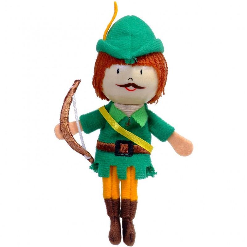 Marioneta pentru deget Robin Hood Fiesta Crafts, 9 x 13 cm, 3 ani+ 2021 shopu.ro