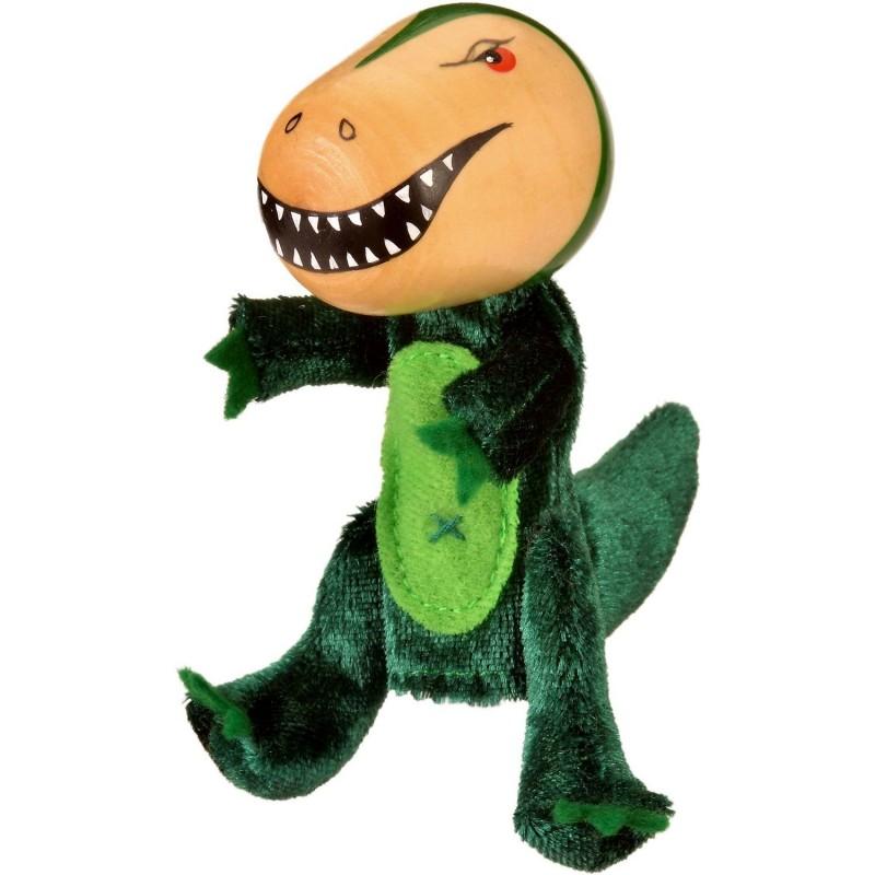 Marioneta pentru deget T-Rex Fiesta Crafts, 9 x 13 cm, 3 ani+ 2021 shopu.ro
