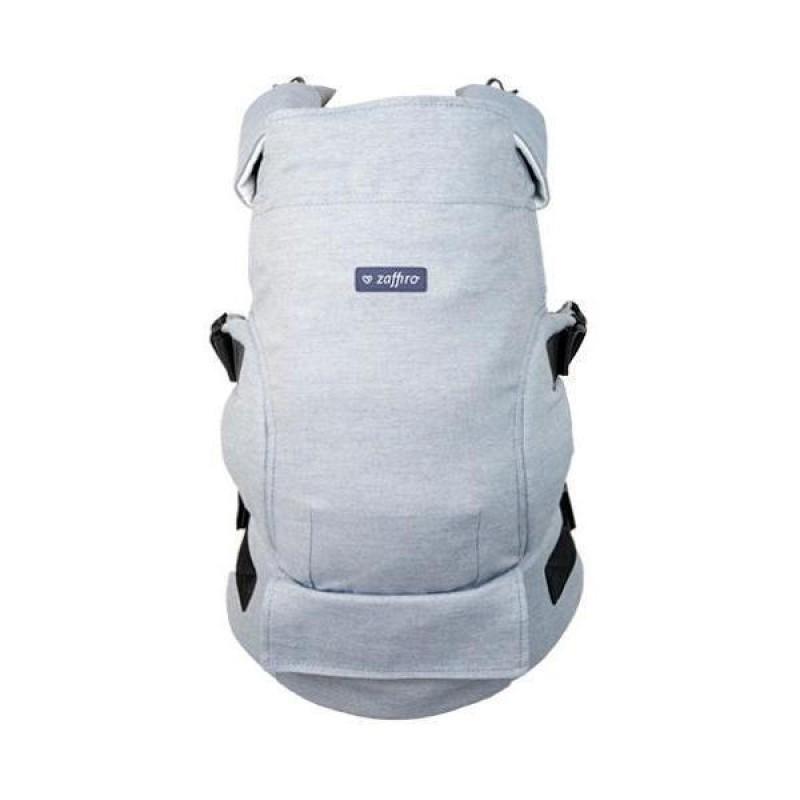 Marsupiu Ergonomic Embrace N24 Melange Womar Zaffiro, 4.5-18 kg, Albastru 2021 shopu.ro