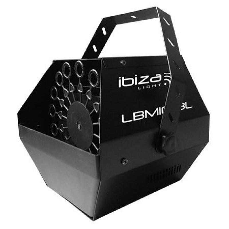 Masina de facut baloane Ibiza, baterie incorporata, telecomanda, 25W, negru