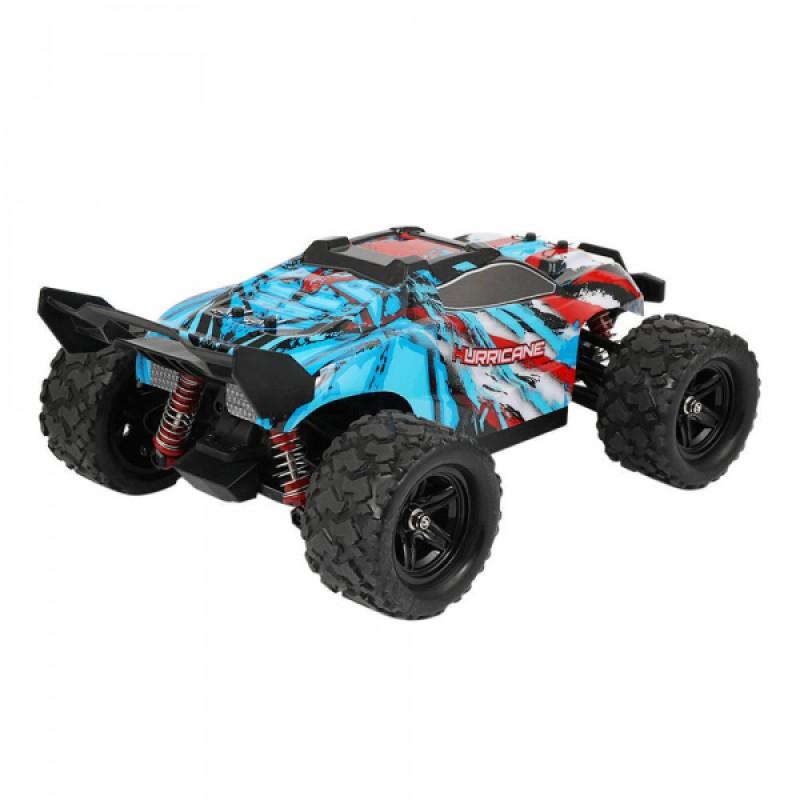 Masina cu telecomanda 4x4 Monster Truck, scara 1:18, 36 km/h, 1200 mAh, 80 m, Multicolor