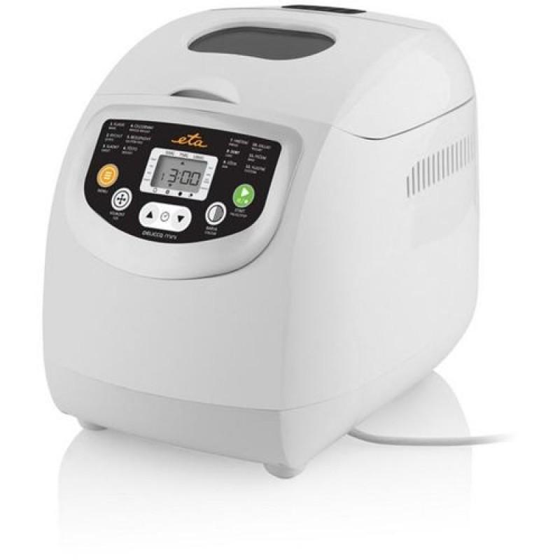 Masina de preparat paine ETA Delicca Mini, 600 W, 12 programe, LCD, cuva 1000 g, maner pliabil, semnal sonor, accesorii incluse 2021 shopu.ro