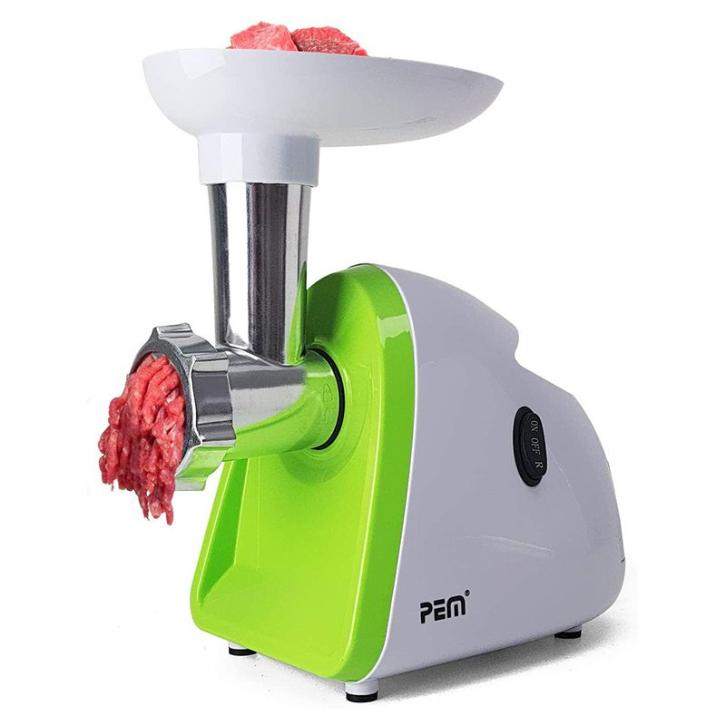 Masina de tocat carne Pem, 500 W, 120 kg/ora, 1 treapta viteza, functie revers, baza antiderapanta 2021 shopu.ro