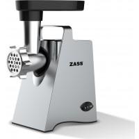 Masina de tocat carne Zass Silver, 800 W, capacitate tocare 600 g/min, accesoriu rosii, 3 discuri incluse