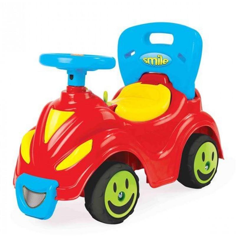 Masina fara pedale 2 in 1 Smile, 42.5 x 63 x 31 cm, maxim 23 kg 2021 shopu.ro