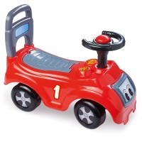 Masina fara pedale Dolu, 37 x 47 x 21 cm, maxim 23 kg, Rosu
