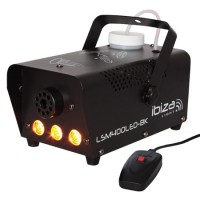 Masina de fum profesionala Ibiza, efect flacara, 400W, negru