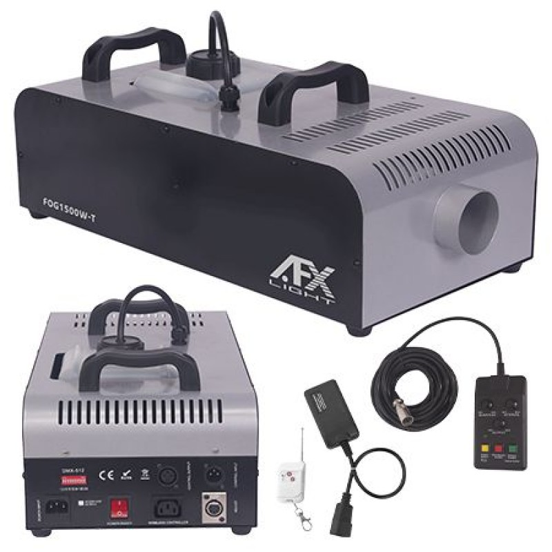 Masina profesionala pentru ceata AFX, 1500 W, timer, telecomanda 2021 shopu.ro