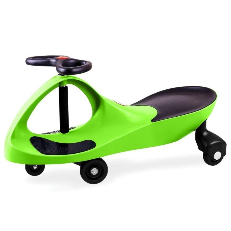 Masinuta fara pedale pentru copii Didicar, volan in forma de fluture, maxim 120 kg, 3 ani+, Verde 2021 shopu.ro