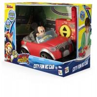 Masinuta Mickey in oras, telecomanda, 3 ani+