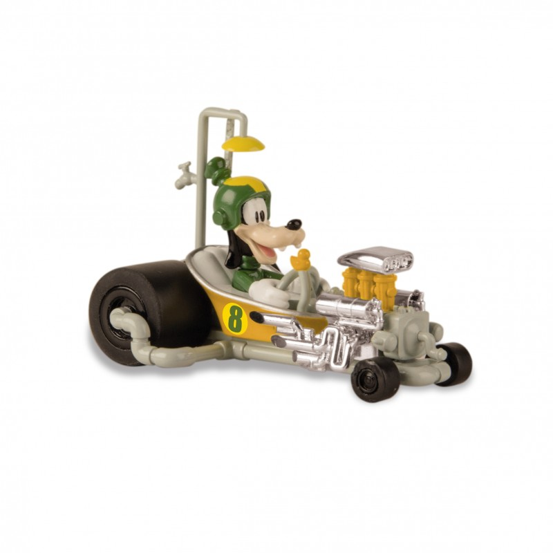 Masinuta mini Roadster Racers Goofy, 3 ani+, Multicolor