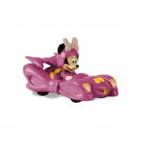 Masinuta mini Roadster Racers Minnie Mouse, 3 ani+, Roz