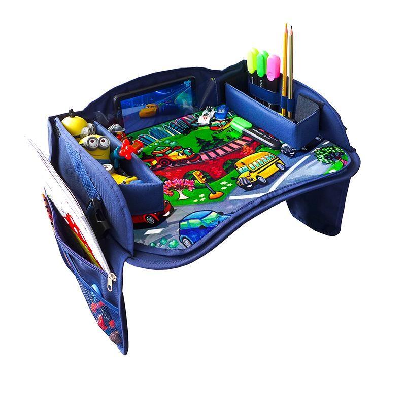 Masuta auto pentru copii RoGroup, 43.5 x 32.5 cm, Multicolor