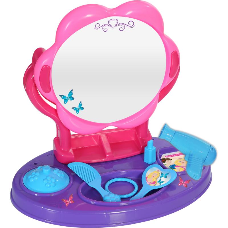 Masuta pentru coafat Princess Maya and Friends Ucar Toys, 3 ani+ 2021 shopu.ro