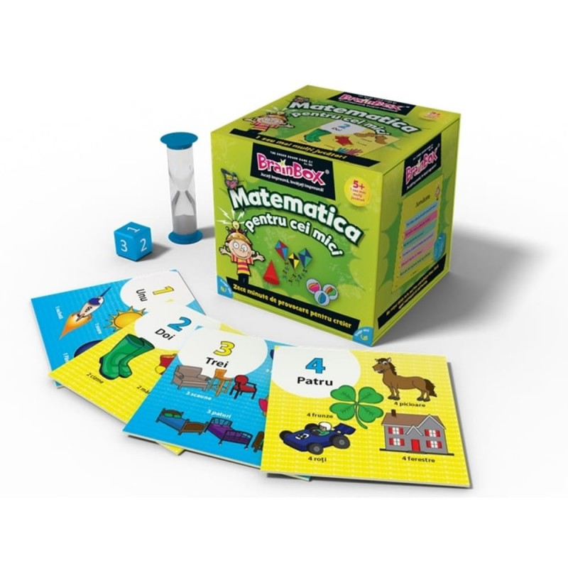 Joc educativ Matematica pentru cei mici BrainBox, maxim 6 jucatori, 5 ani+ 2021 shopu.ro