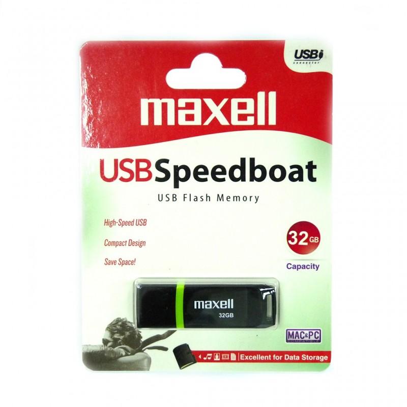 Memorie flash USB Speedboat Maxell, 32 GB 2021 shopu.ro