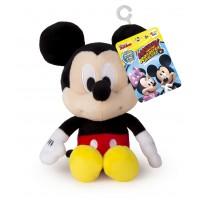 Jucarie Mickey Mouse de plus, 17 cm, sunete