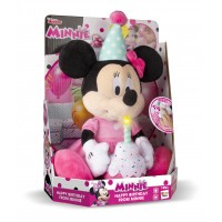 Jucarie de plus Mickey Mouse La multi Ani, sunete si lumini