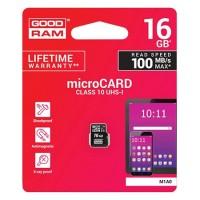 Card Micro SD Goodram, capacitate 16 GB, clasa 10