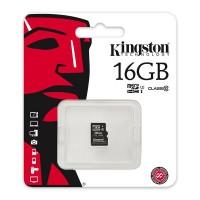 Card microSD Kingston, capacitate 16 GB, clasa 4, fara adaptor