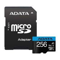 Card de memorie cu adaptor Premier Adata, Micro SD, UHS-I, Clasa 10, 256 GB