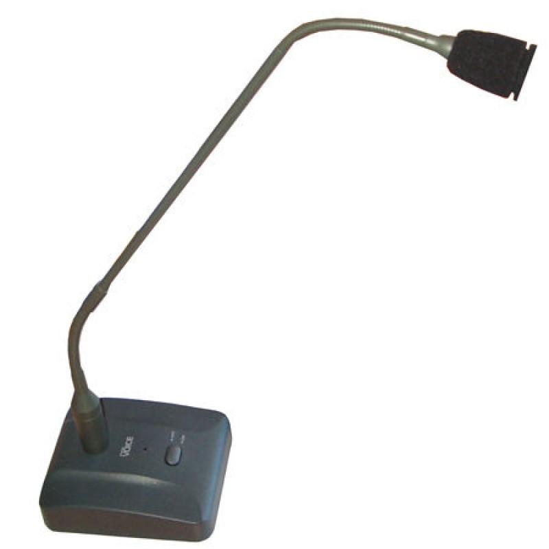 Microfon conferinte cu stativ D-30, 54 cm, Negru 2021 shopu.ro