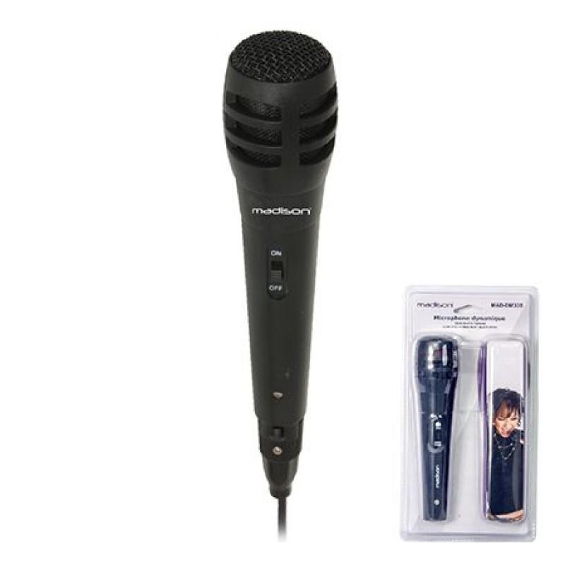 Microfon dinamic DM338, 600 Ohm, jack 6.3 mm 2021 shopu.ro