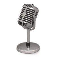 Microfon PC Stage Esperanza, mini jack 3.5 mm, Argintiu