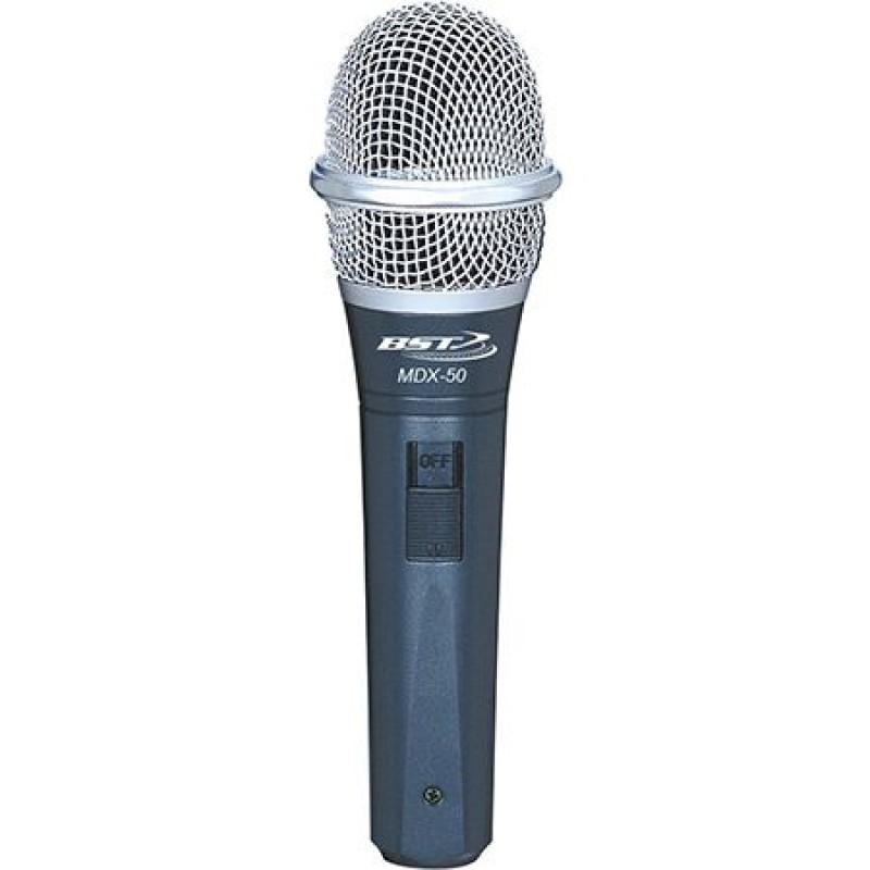 Microfon unidirectional BST, 400 Ohm, cablu 5 m