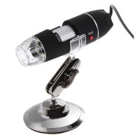 Microscop digital, USB, focus 15-40 mm, 8 x LED, 500x