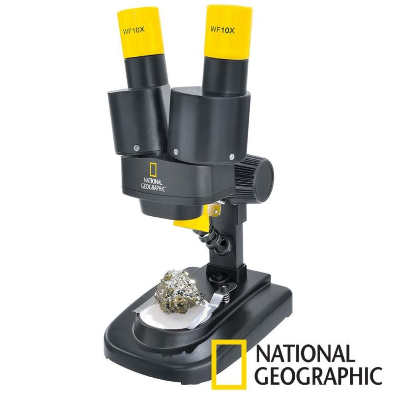 Microscop optic National Geographic, marire 20x, 6 ani+ 2021 shopu.ro