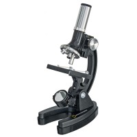 Microscop optic National Geographic 300-1200x, tureta rotativa