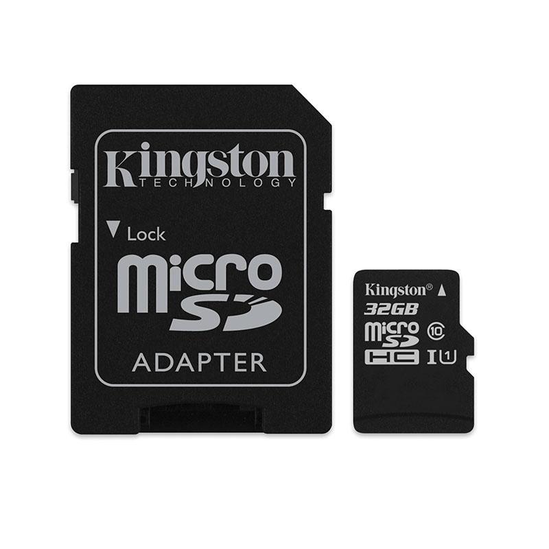 Card microSD Kingston, adaptor, 32 GB, clasa 10 2021 shopu.ro