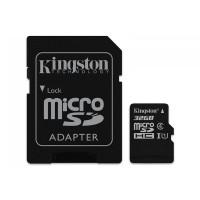 Card microSD Kingston cu adaptor, capacitate 32 GB, clasa 4