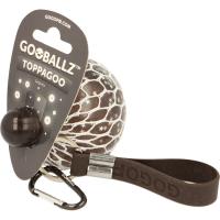Minge tip strugure cu paiete Gooballz Keycraft, antistres, 6.5 cm, 3 ani+, Gri