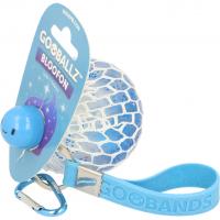 Minge tip strugure cu sclipici Gooballz Keycraft, antistres, 6.5 cm, 3 ani+,  Albastru