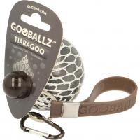 Minge tip strugure fosforescenta Gooballz Keycraft, antistres, 6.5 cm, 3 ani+, Gri