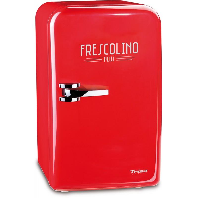 Mini frigider Trisa Frescolino Red, 60 W, 17 L, alimentare 230 V