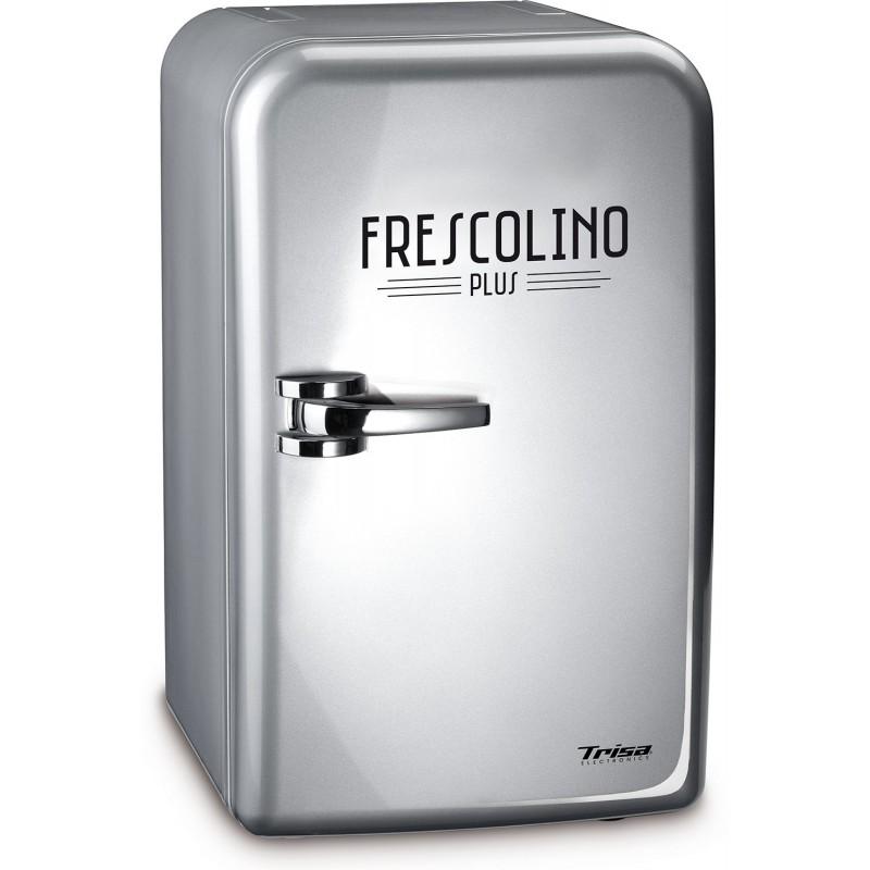 Mini frigider Trisa Frescolino Silver, 60 W, 17 L, alimentare 230 V 2021 shopu.ro